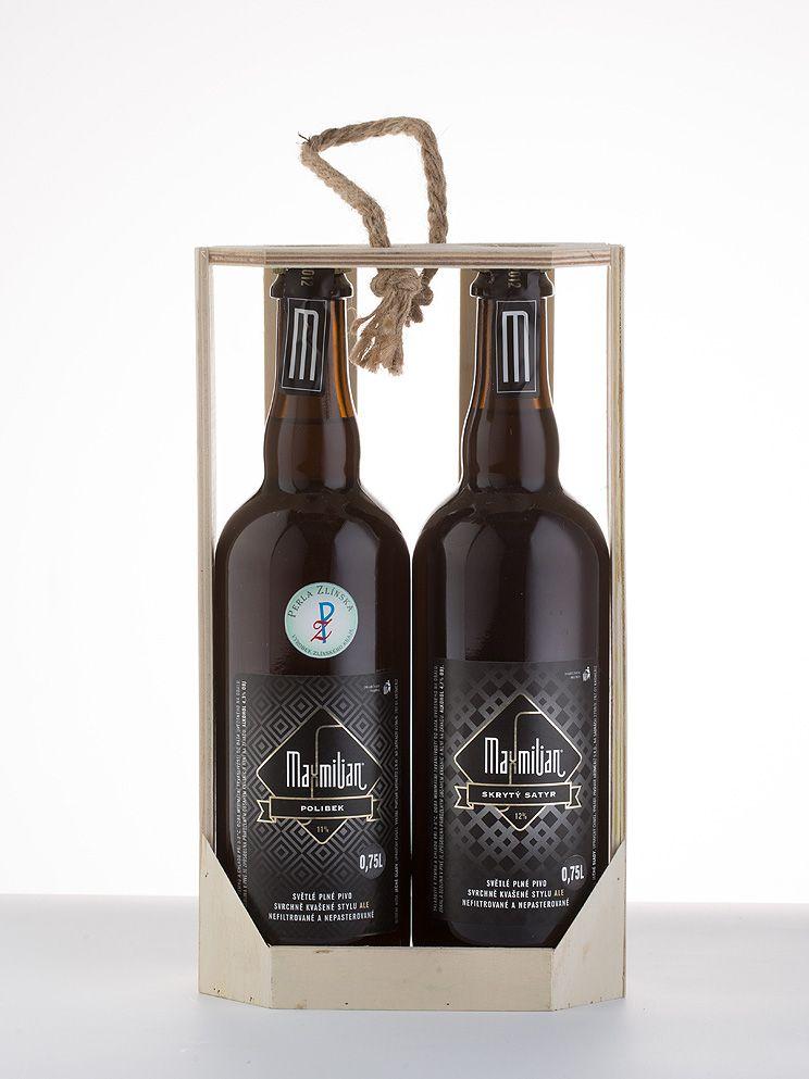 Pivo Maxmilian dárková kazeta