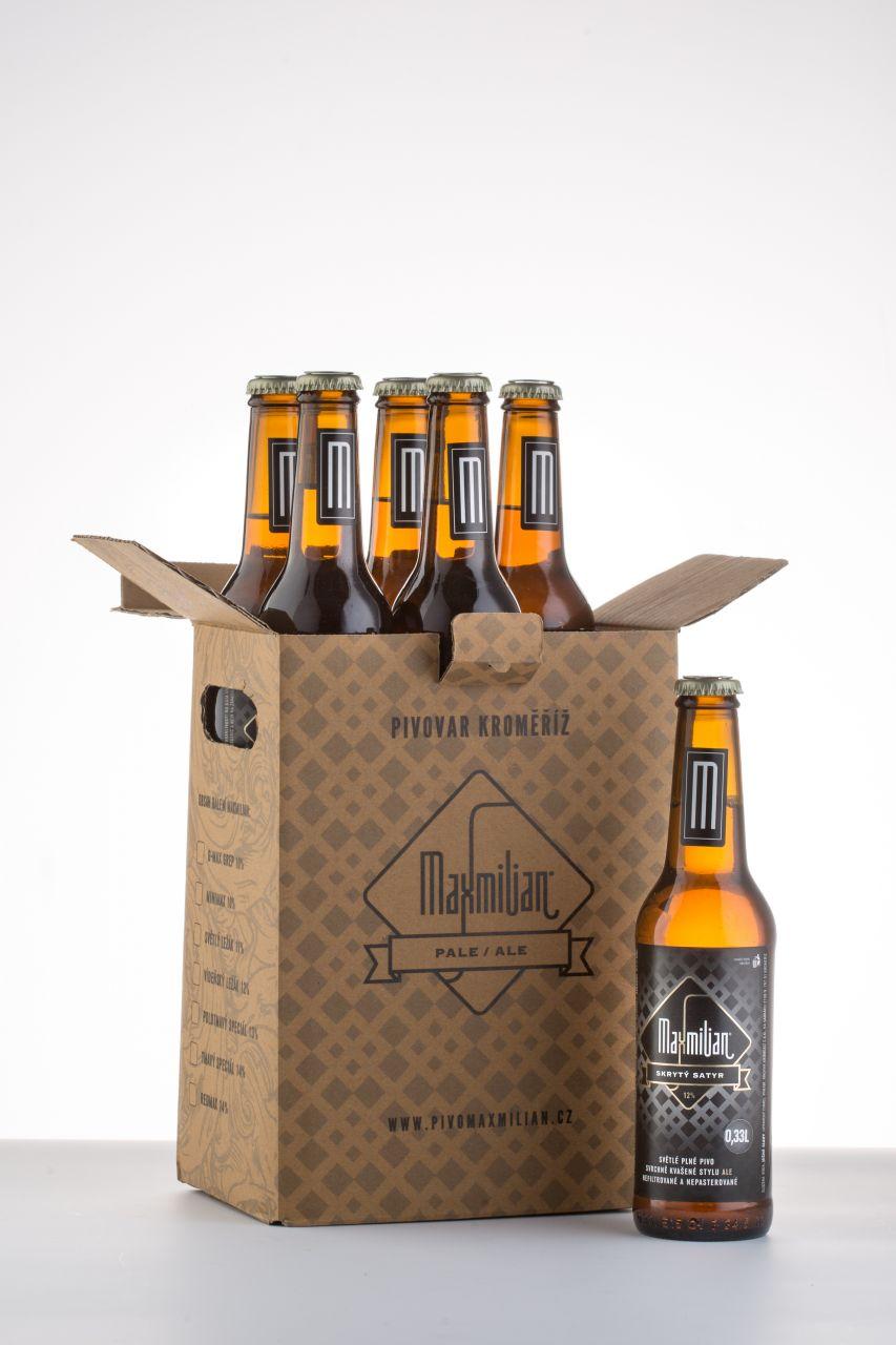 Pivo Maxmilian dárkový box