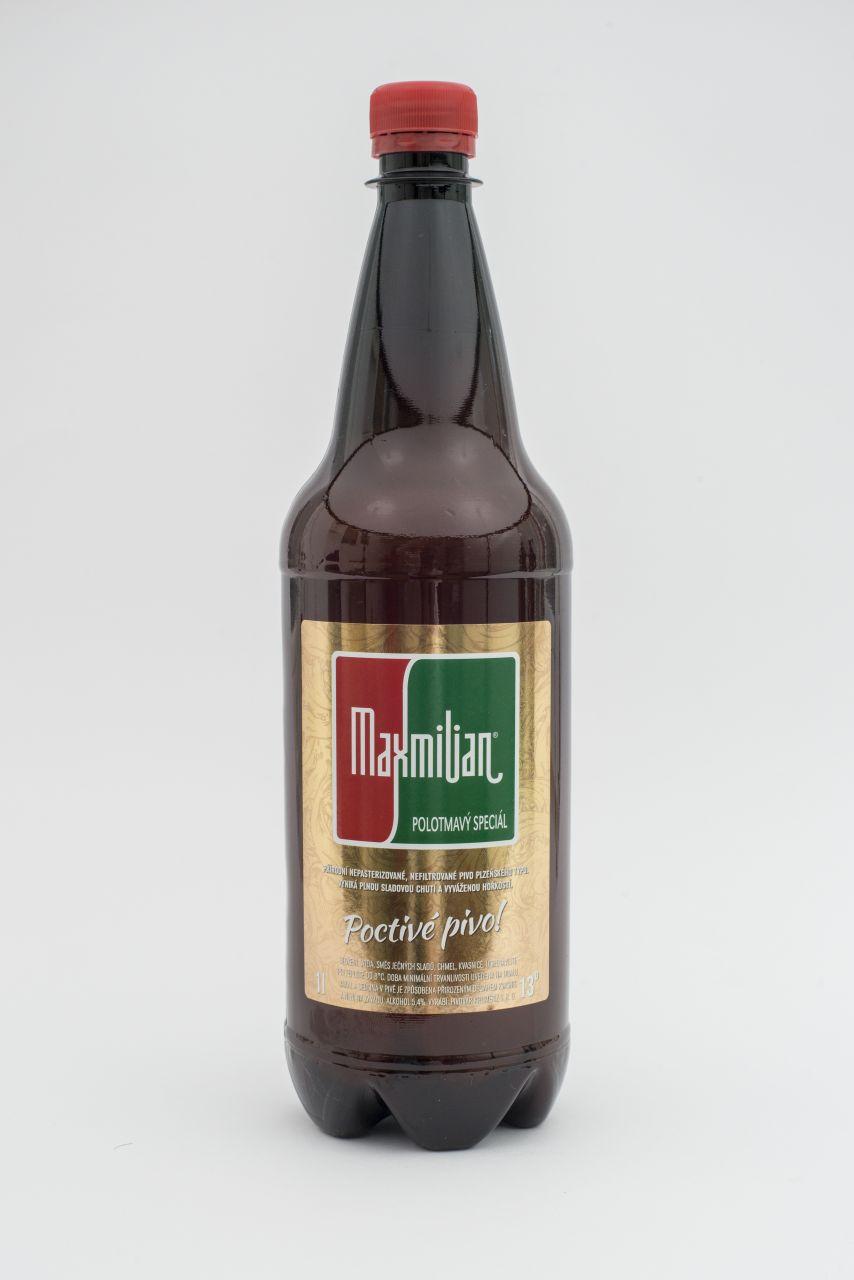 Pivo Maxmilian Polotmavý speciál 13°