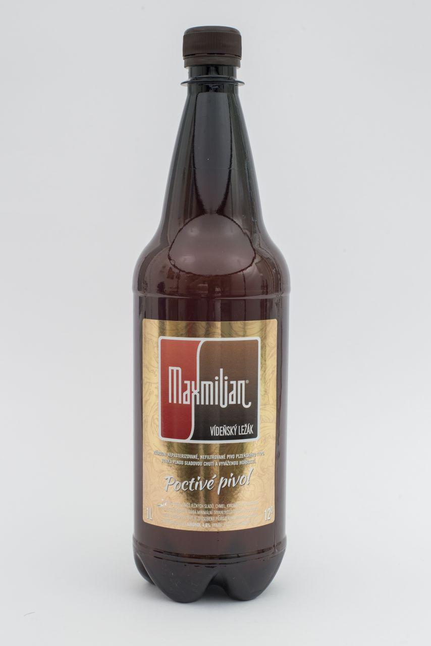 Pivo Maxmilian Vídeňský ležák 12°